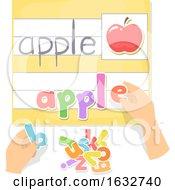 Hands Preschool Movable Letters Activity