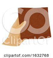 Hand Hold Leather Illustration