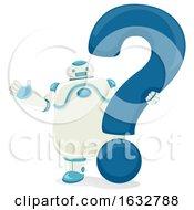Robot Question Mark Illustration