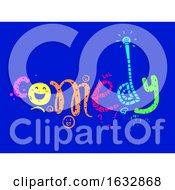 Poster, Art Print Of Comedy Lettering Illustration