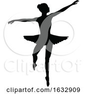 Poster, Art Print Of Ballet Dancer Silhouette