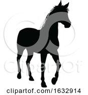 Poster, Art Print Of Horse Animal Silhouette