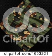 Poster, Art Print Of Carbon Fibre And Camouflage Background