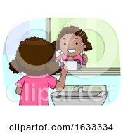 Kid Girl Mirror Phone Electric Toothbrush