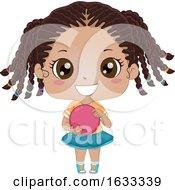 Poster, Art Print Of Kid Girl Black Bowling Illustration