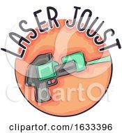 Poster, Art Print Of Icon Laser Joust Illustration