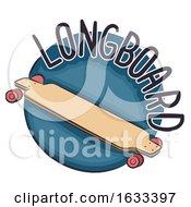Poster, Art Print Of Icon Longboard Illustration