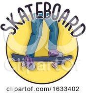 Poster, Art Print Of Icon Skateboard Illustration