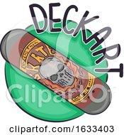 Icon Skateboard Deck Art Illustration