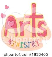 Poster, Art Print Of Lettering Arts Ministry Illustration