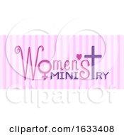 Poster, Art Print Of Lettering Womens Ministry Illustration