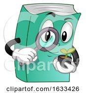 Mascot Book Gardening Illustration