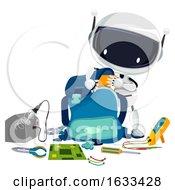 Robotics Bag Tools Illustration