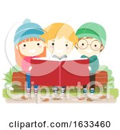 Kids Book Outdoor Nature Study Illustration