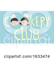 Kids Cookery Club Lettering Illustration