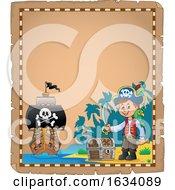 Pirate Parchment Border