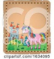 Unicorn And Castle Border