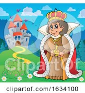 Queen Near A Castle