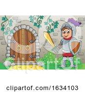 Knight By A Caslte Door