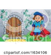 Prince By A Castle Door