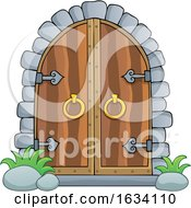 Arched Castle Doors