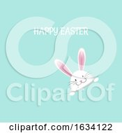 Poster, Art Print Of Cute Easter Bunny Background