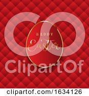Poster, Art Print Of Luxurious Easter Egg Background