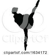 Poster, Art Print Of Ballet Dancer Silhouette Set