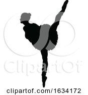 Ballet Dancer Silhouette Set