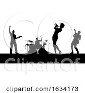 Music Band Concert Silhouettes