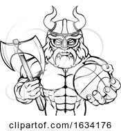 Viking Basketball Sports Mascot