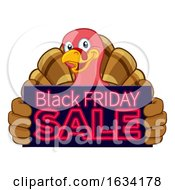 Turkey Black Friday Sale Cartoon