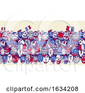 Poster, Art Print Of Crowd Of French Eggs