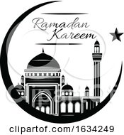 Black And White Islam Design