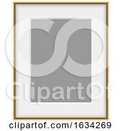 Poster, Art Print Of 3d Blank Picture Frame