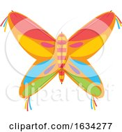 Poster, Art Print Of Colorful Butterfly Kite