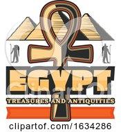 Ancient Egyptian Hieroglyph Ankh Symbol