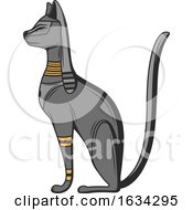 Egyptian Bastet by Vector Tradition SM