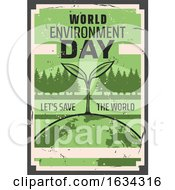 Poster, Art Print Of World Environment Day Design