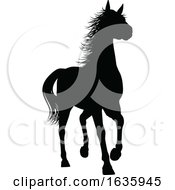 Poster, Art Print Of Horse Silhouette Animal