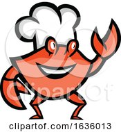 Cajun Crab Wearing A Chef Hat