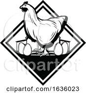 Poster, Art Print Of Black And White Farming Design