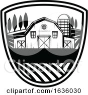 Black And White Farming Design by Vector Tradition SM