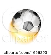 03/24/2019 - Soccer Sport Ball In Fire