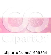 Pink Bokeh Website Banner
