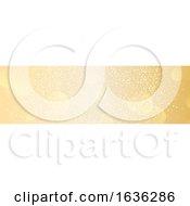 Poster, Art Print Of Golden Bokeh Website Banner
