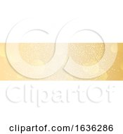 Golden Bokeh Website Banner