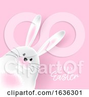 Poster, Art Print Of Easter Bunny Background