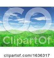 3D Grassy Landscape by KJ Pargeter