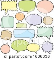 03/25/2019 - Colorful Speech Bubbles Or Balloons